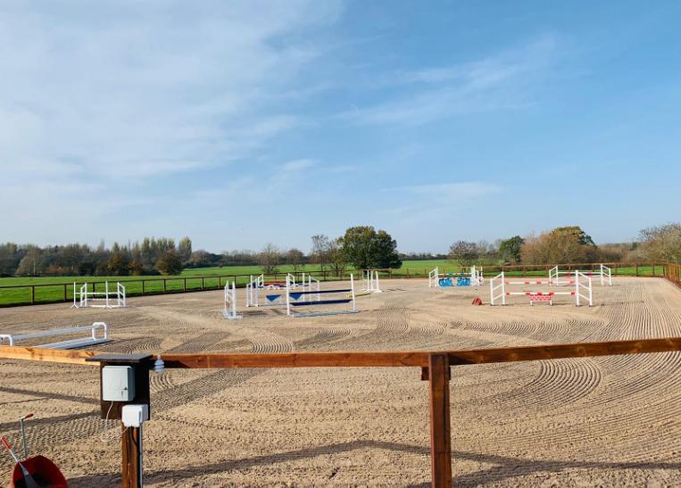 Equestrian Sand Arena
